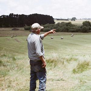 contadino campagna